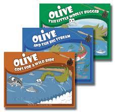 Fliegenfischen App Olive Woolly Bugger 5