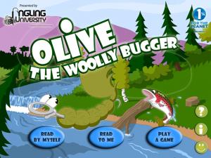 Fliegenfischen App Olive Woolly Bugger