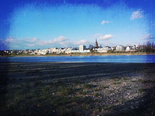 Fliegenfischen Rhein Porz