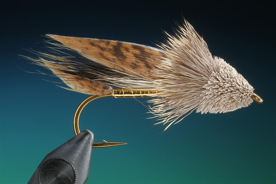 Forelle Äsche Fliegenbinden Barry Ord Clarke Muddler Minnow