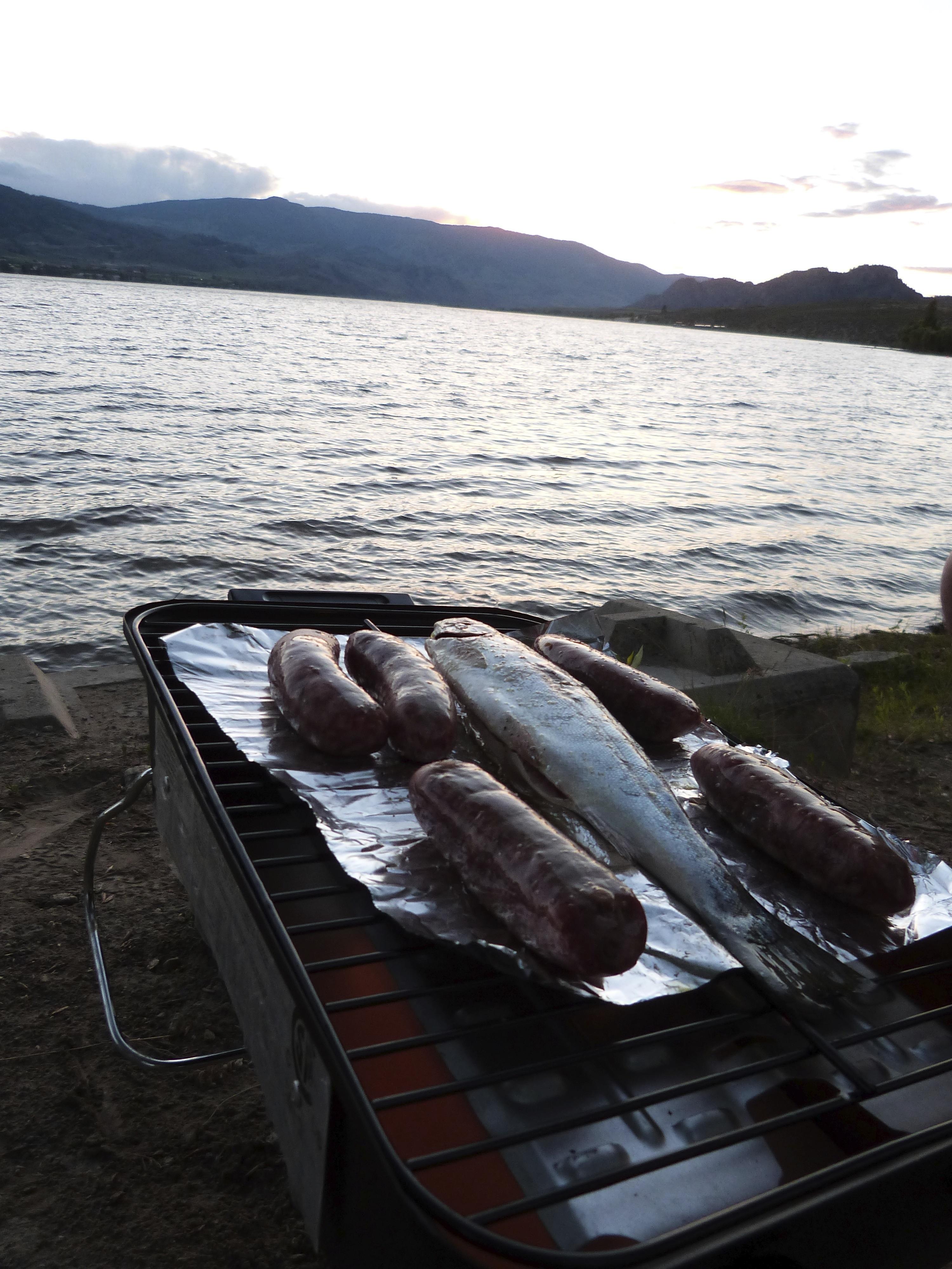 Forelle Äsche Fliegenfischen Lake Osoyoos1