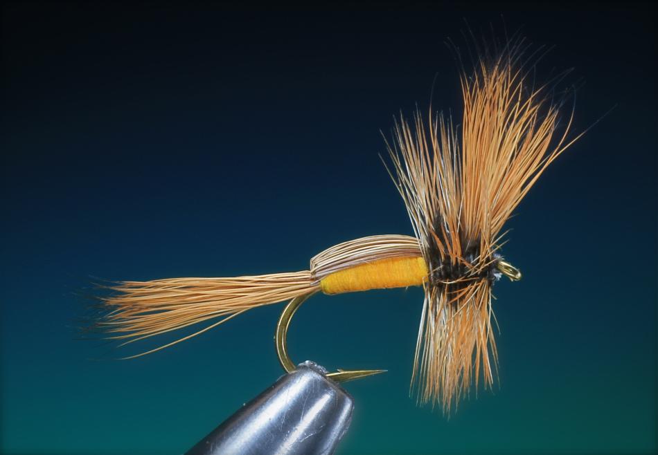 Forelle Äsche Fliegenbinden Barry Ord Clarke Humpy Complete