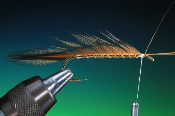 Forelle Äsche Fliegenbinden Barry Ord Clarke Matuka Streamer16