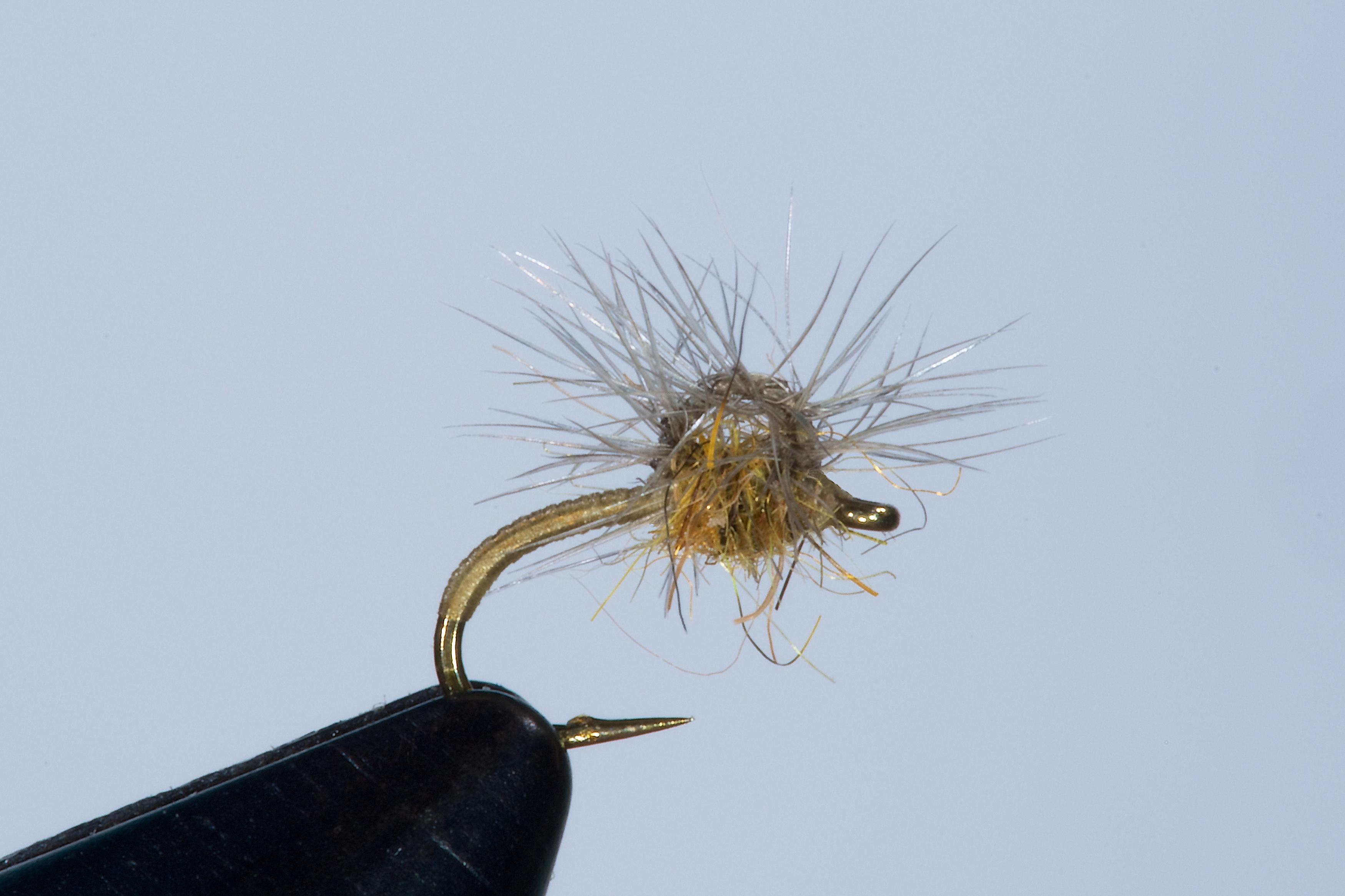 Forelle Äsche Fliegenbinden Walter Reisinger Pale Watery Dun5