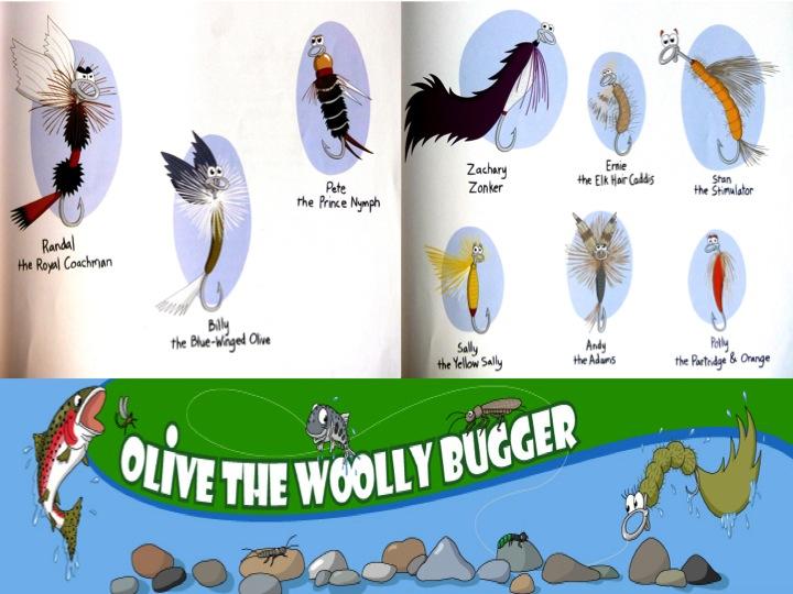 Fliegenfischen Woolly Bugger3