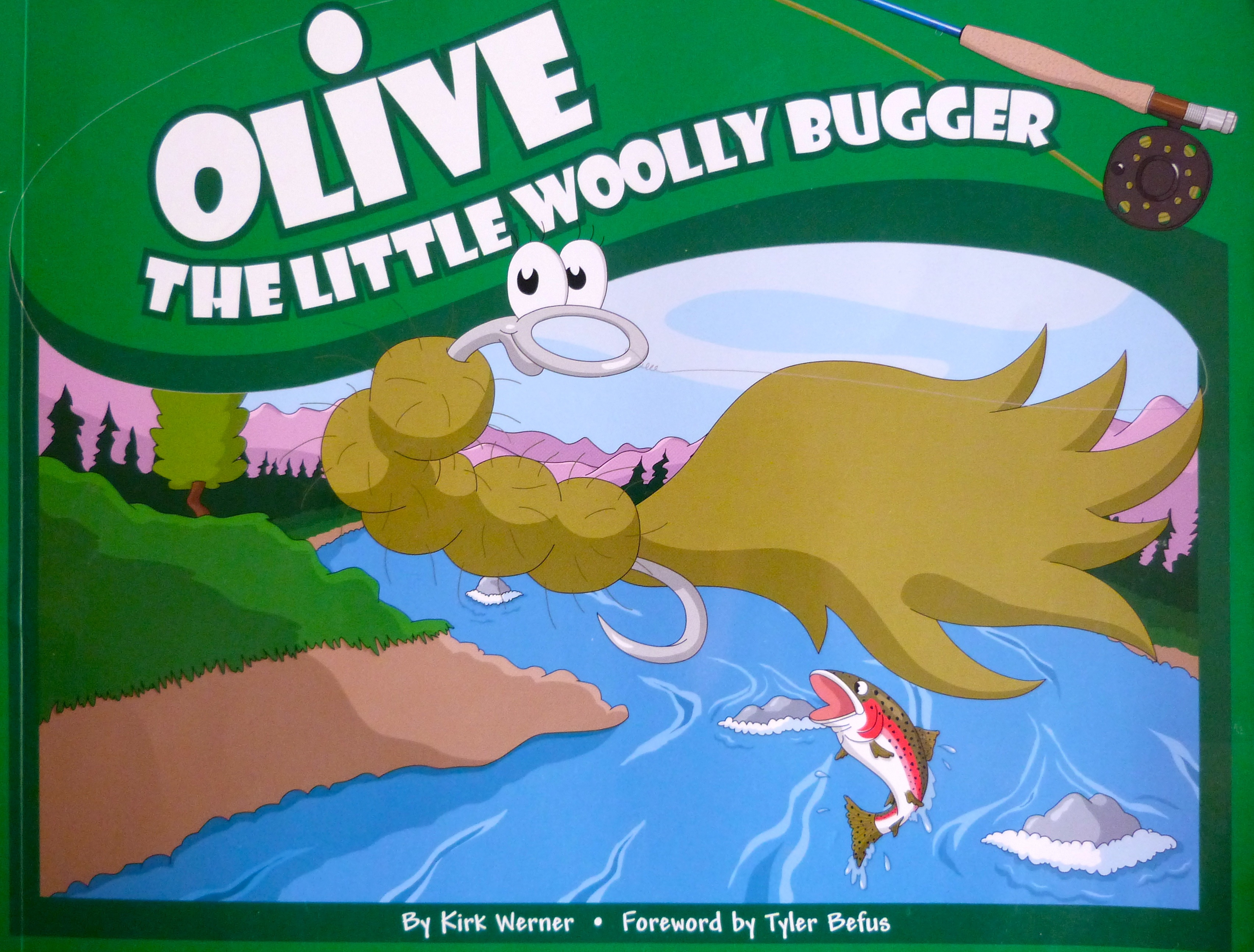 Fliegenfischen Woolly Bugger6