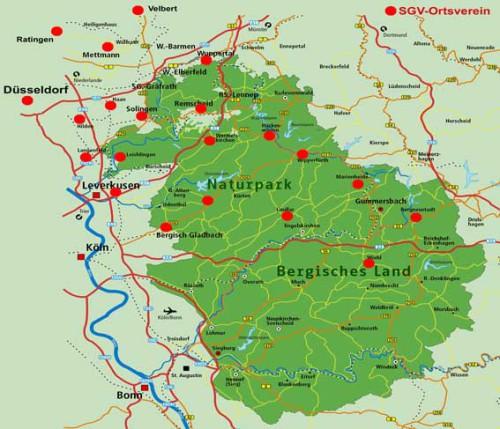 © SGV-Region Bergisches Land / Rheinland e.V.