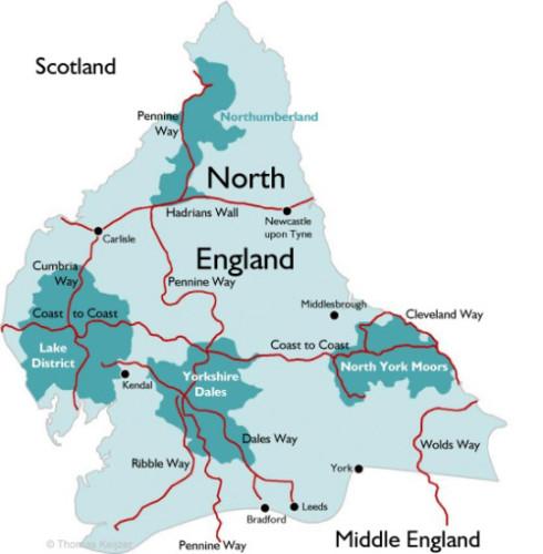 Fliegenfischen Nord England