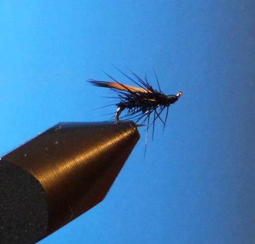 Forelle Aesche Trockenfliege Jassid