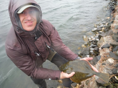 Michael Wenzel Ostvoornse Meer Scholle Fliegenfischen