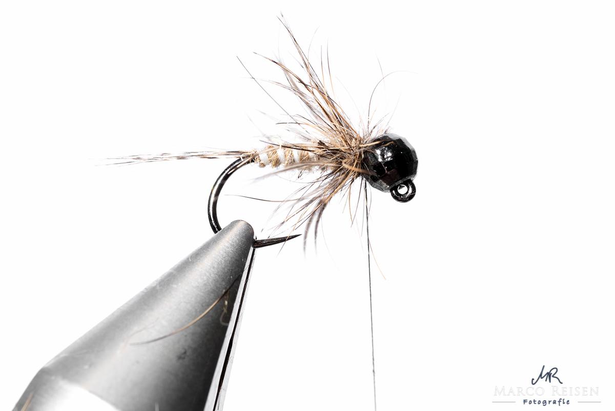 Fliegenbinden_MR_Marchbrown_Jig10
