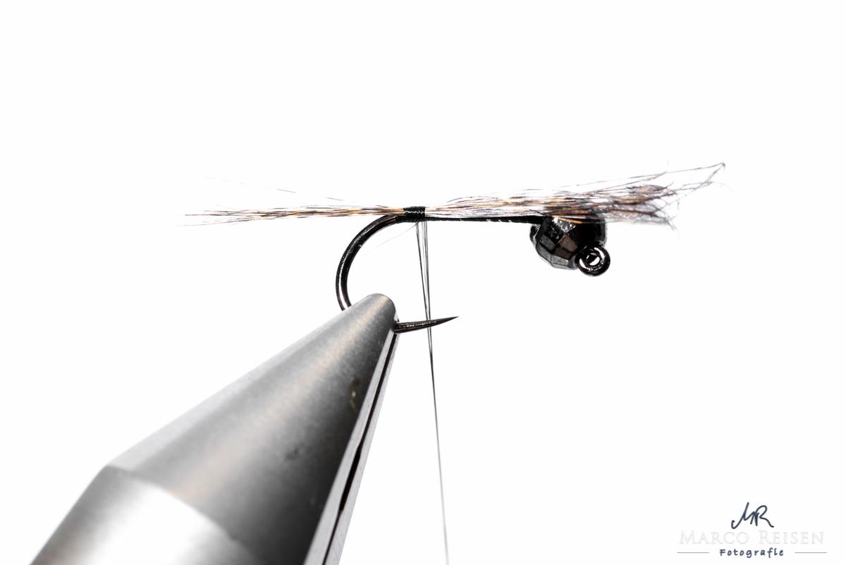 Fliegenbinden_MR_Marchbrown_Jig2