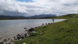 Kalkstein Symphonie Durness – Fliegenfischen in Schottland
