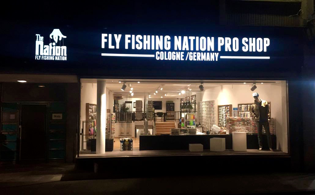 Tackle shop von format fly fishing nation pro shop k ln for Fly fishing stores